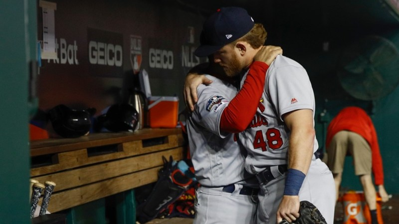 Nationals use huge first inning to sweep Cardinals out of postseason