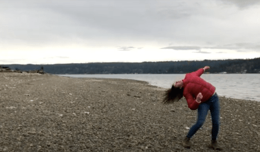 On Shore Breeze Low Tide, 2020 (image courtesy of Sarah Campen)