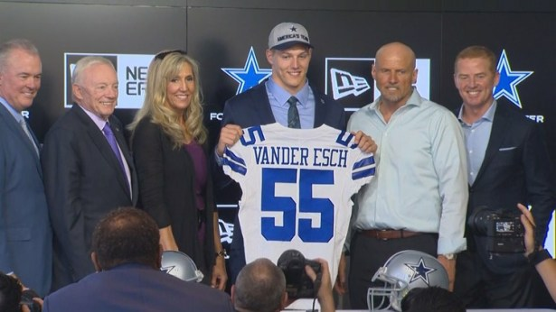 Image result for leighton vander esch dallas cowboys