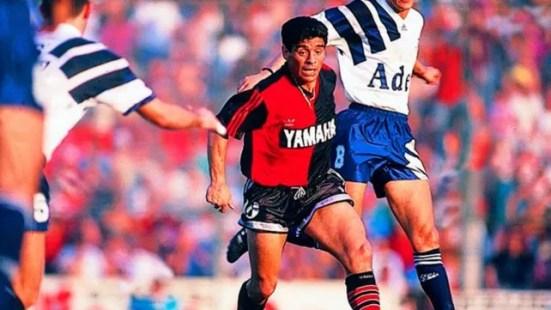 Los siete partidos de Diego Maradona en Newells que marcaron el romance  eterno