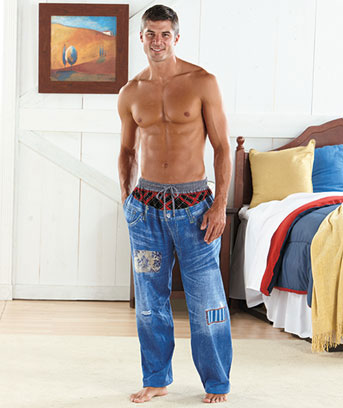 Knit Jean Lounge Pants