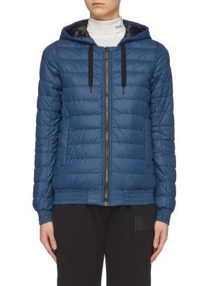 'Richmond Hoody' packable down puffer jacket