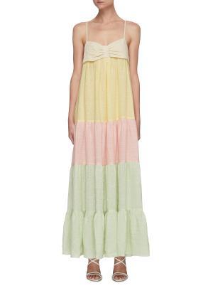 'St Tropez' colourful slip dress