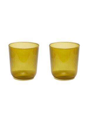 LUISA VINO GLASS SET - Citrine green