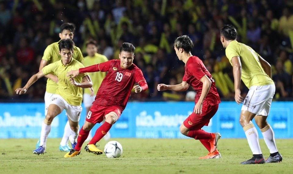 Kết quả hình ảnh cho vietnam 1-0 thailand king's cup