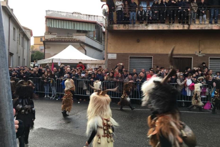 Mamuthone Carnevals in Sardinia