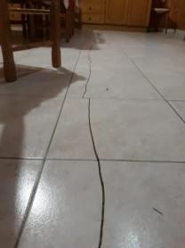 scossa terremoto crepe