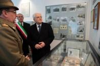 mattarella omaggio caduti battaglia monte lungo visita museo