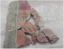 7. Ricomposizione dei frammenti di crollo_schola_armaturarum