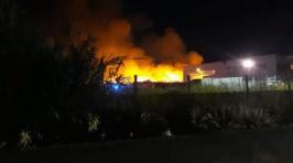 rogo azienda incendio fiamme