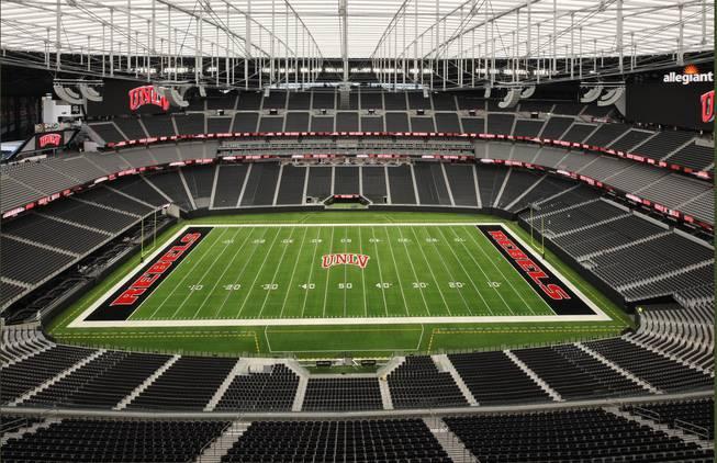 Allegiant Stadium, UNLV layout