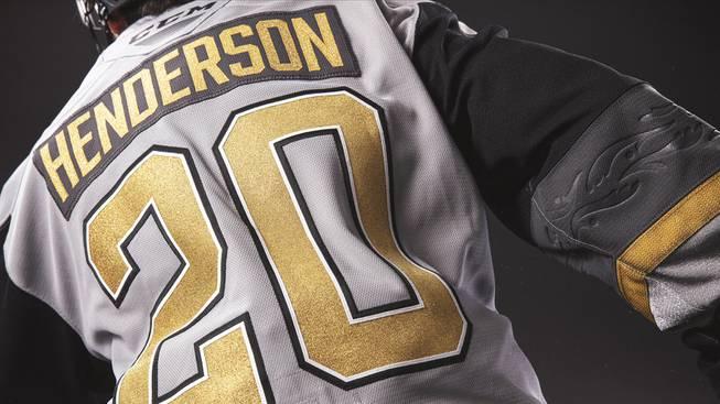 Henderson Silver Knights' Jersey Reveal