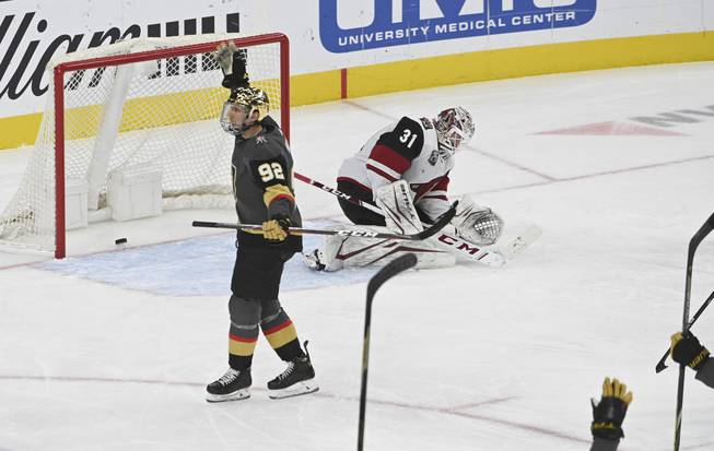 Golden Knights Coyotes VGK