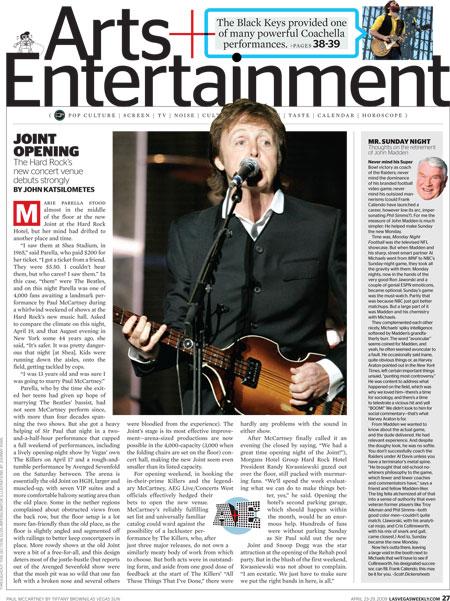 John Kats Las Vegas Weekly column
