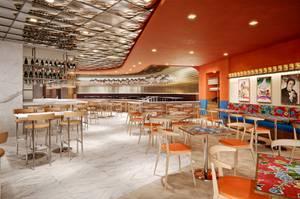 A rendering of Virgin's Night + Market restaurant.