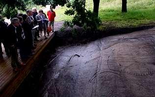 Petroglifos de la comarca de Pontevedra reciben la distinción de itinerario cultural europeo