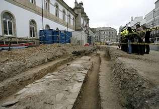 Los acueductos romano y del Bispo Izquierdo tenían diferente trazado