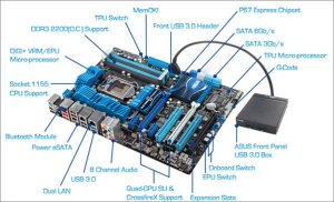 Hp Motherboard Diagram, Hp, Free Engine Image For User