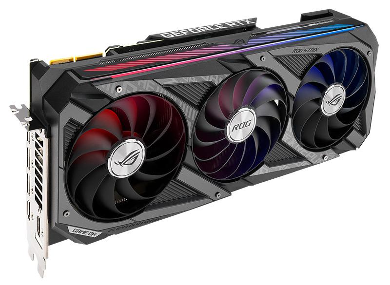 carte graphique vr ready - Asus Geforce RTX 3060 Ti ROG STRIX O8G Gaming: pour les créatifs