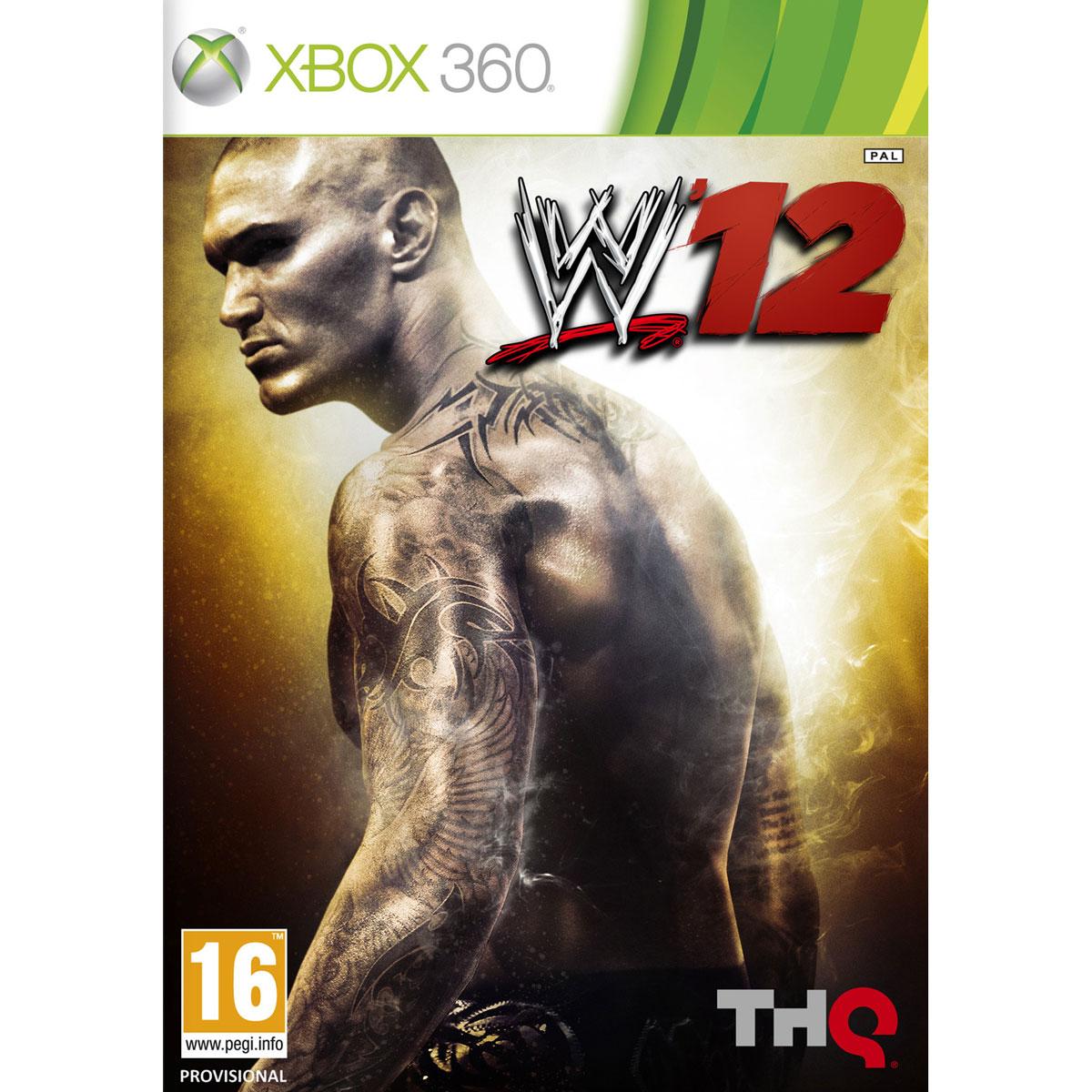 WWE 12 Xbox 360 Jeux Xbox 360 THQ Sur