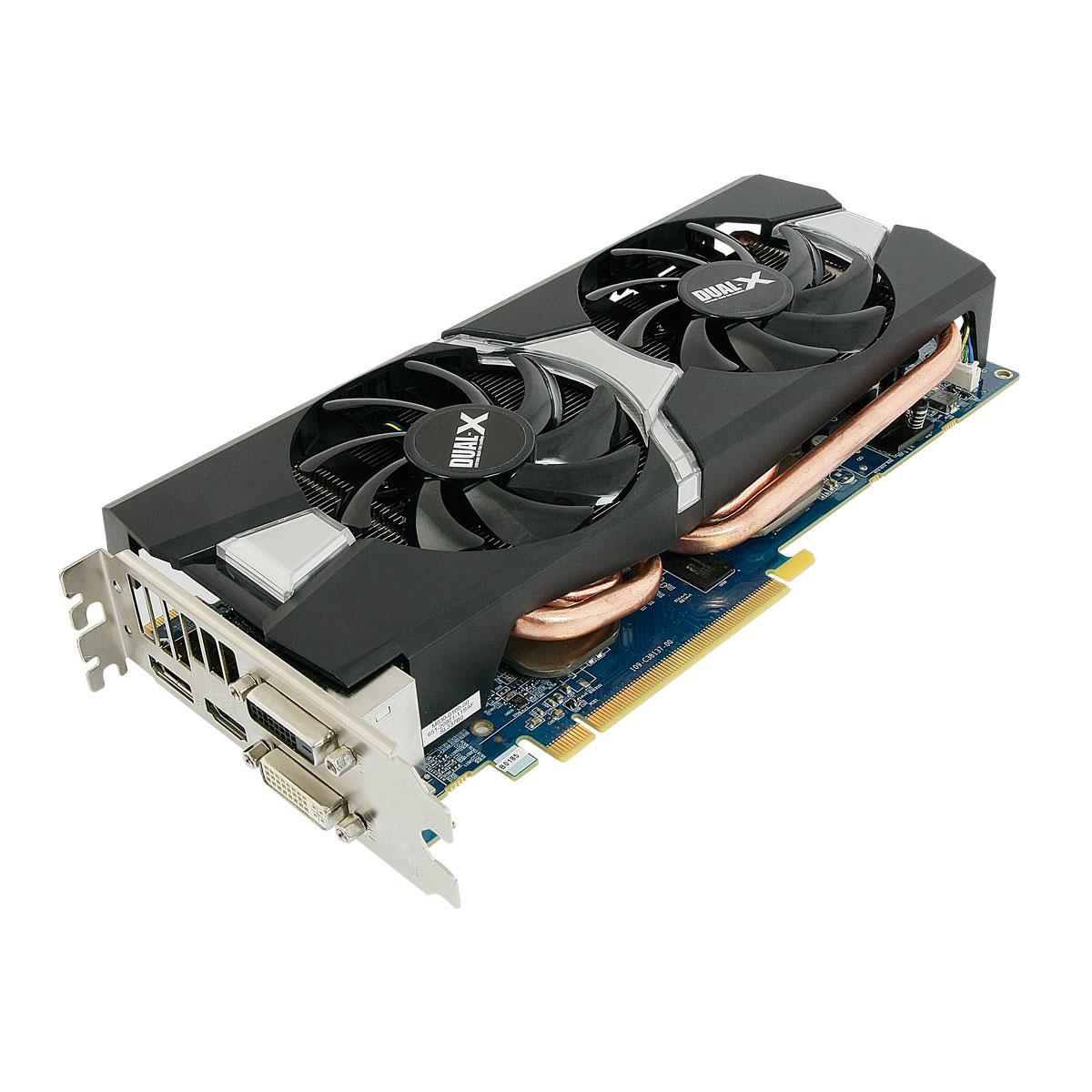 Sapphire Radeon R9 280X Dual X 3G GDDR5 OC Carte Graphique SAPPHIRE Sur