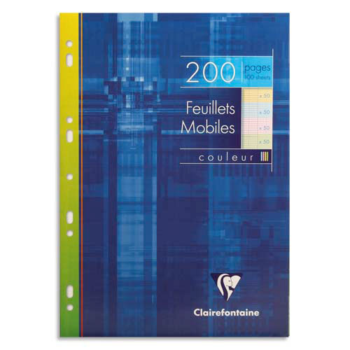 Clairefontaine Copies Simples Perfores 200 Pages 21 X 29