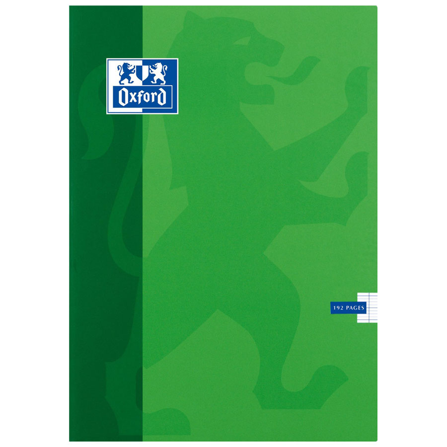 Oxford Cahier 192 Pages 240 X 320 Mm Seys Grands Carreaux