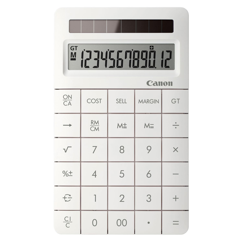 Canon X MARK II Blanc Calculatrice Canon Sur