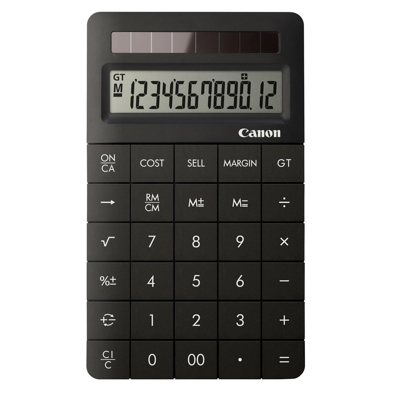 Canon X MARK II Noir Calculatrice Canon Sur