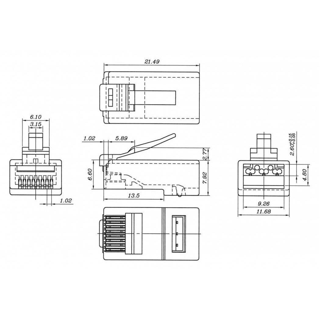 Rj9 Rj45 Diagram