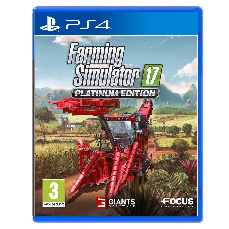Farming Simulator 2017 Edition Platinum PS4 Jeux PS4