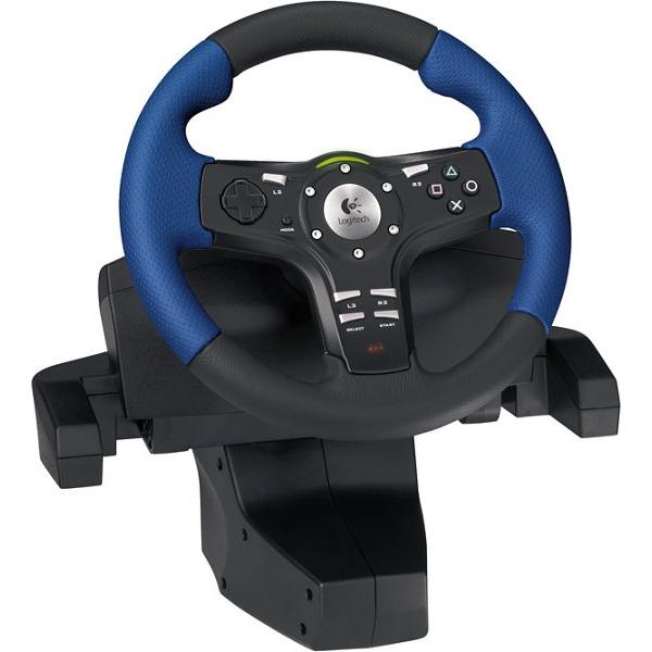 Logitech Driving Force EX Pour PlayStation 2 Volant PC