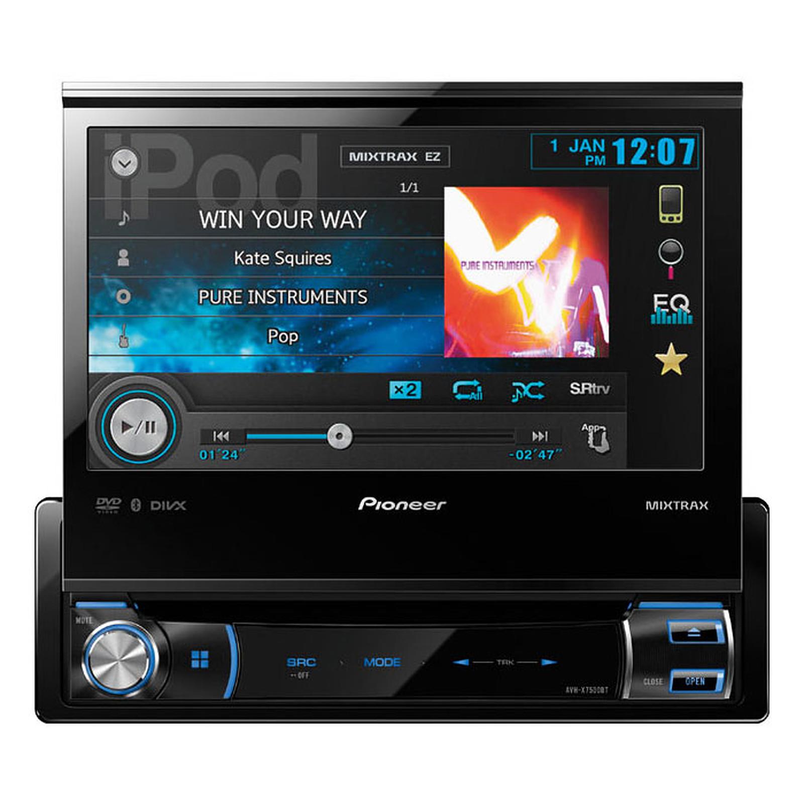 pioneer avh x7500bt autoradio pioneer