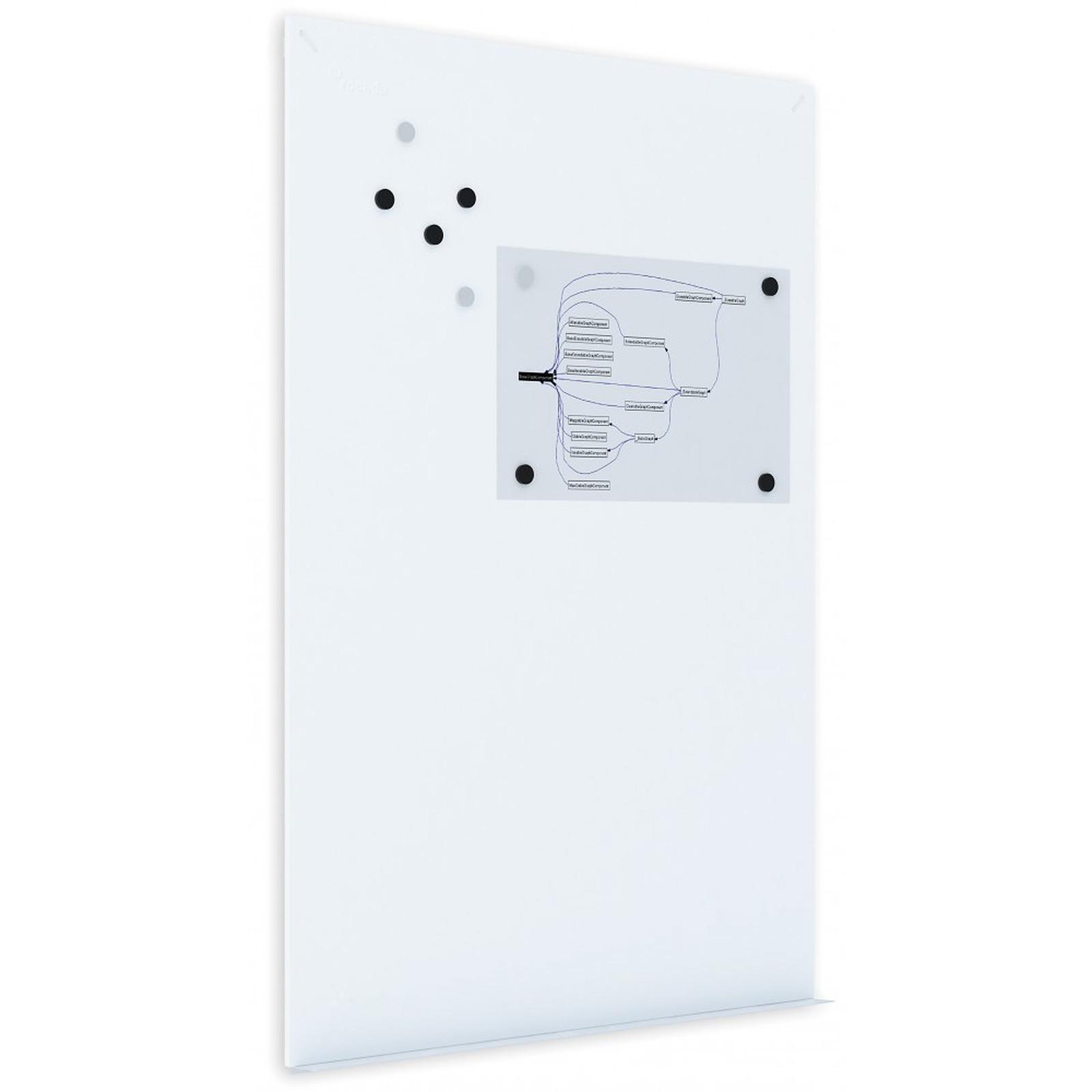 rocada tableau blanc metallique 75 x 115 cm