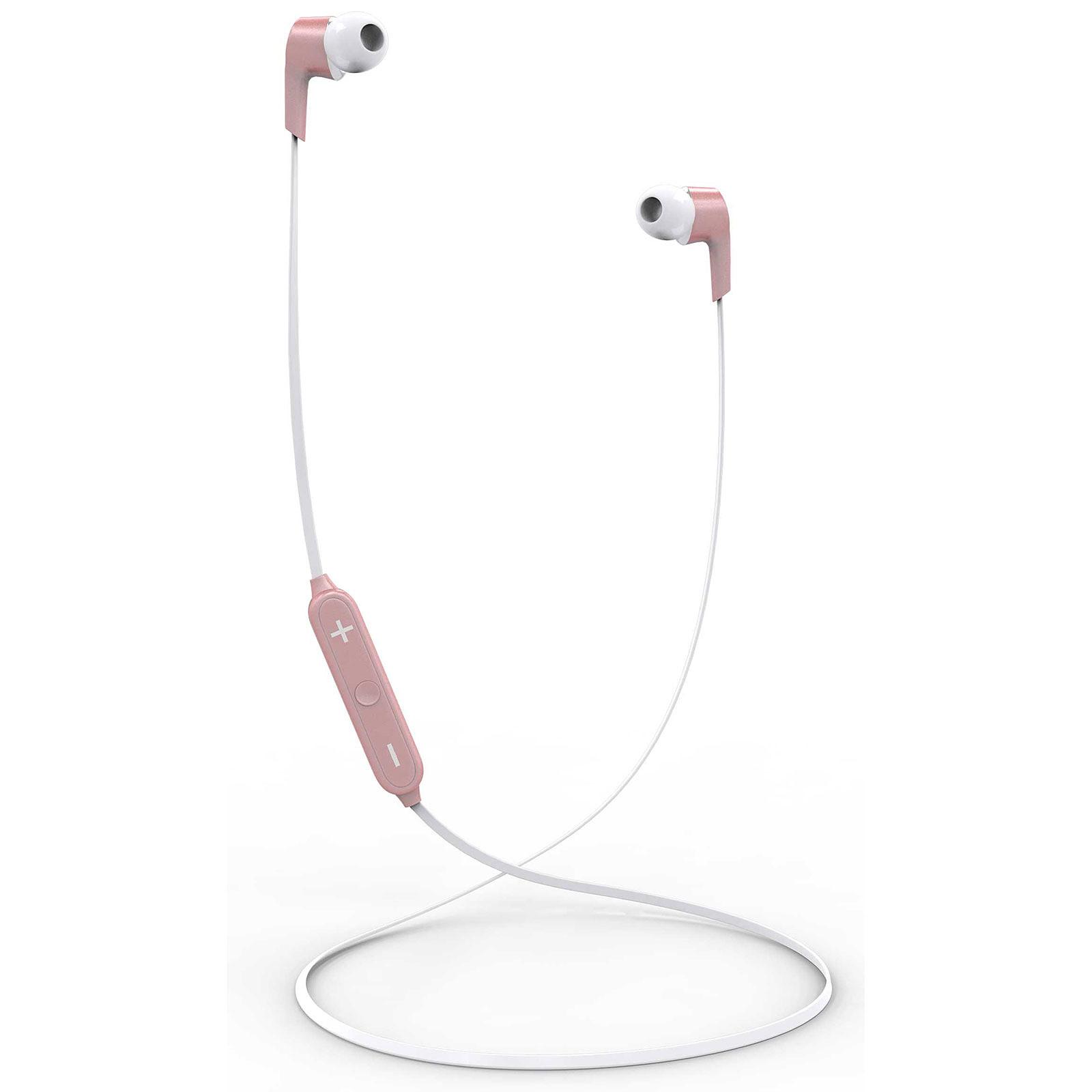 Akashi Ecouteurs Bluetooth Avec Micro Rose
