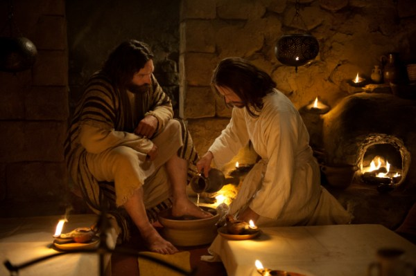 Image result for Jesus washing the disciples' feet