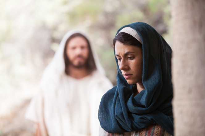 John 20:3–18, Mary hears Christ while looking for Him at the tomb