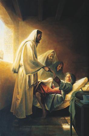 jesus levanta a la hija de jairo con un milagro