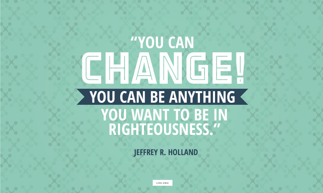 Lds Quotes Self Improvement