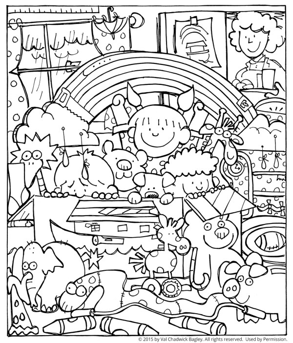 noah and the ark coloring pages # 5
