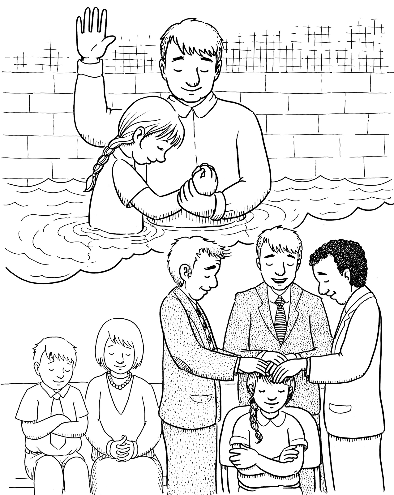 Baptism And The T Of The Holy Ghost