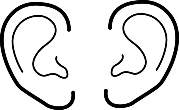 ear coloring page # 2