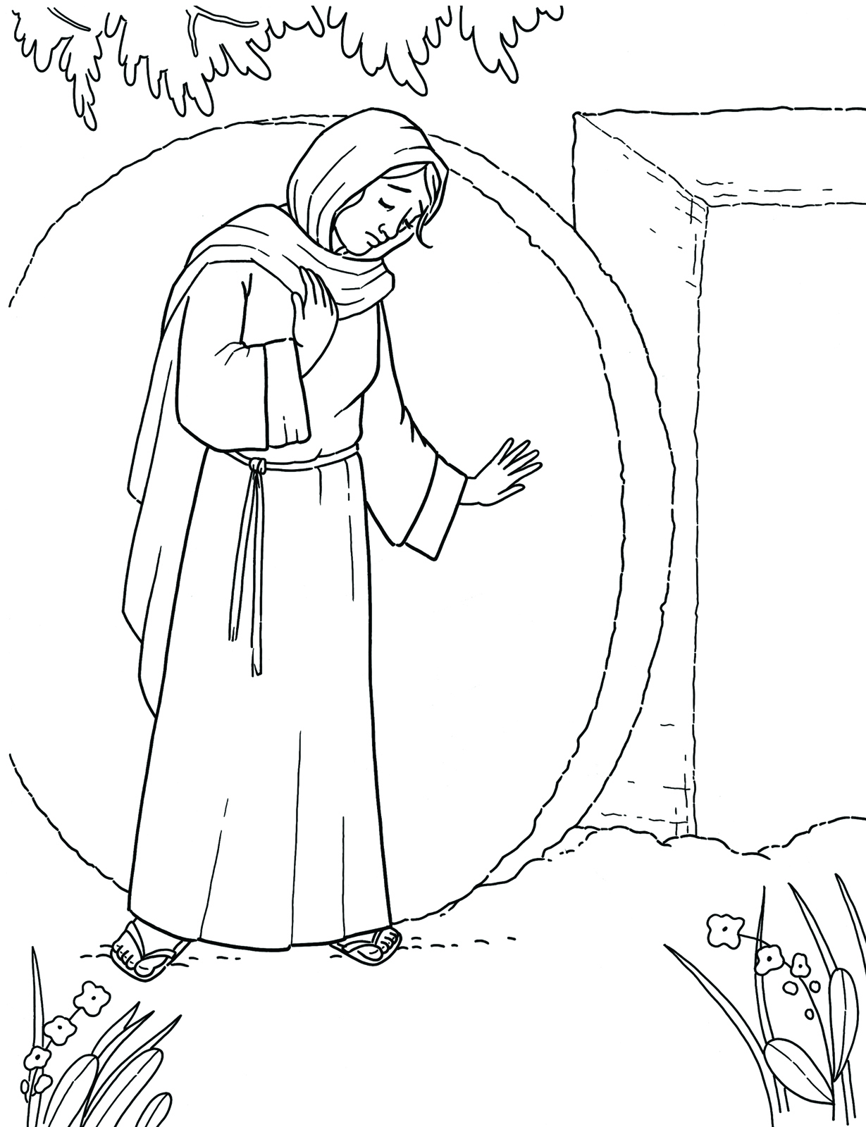 Mary At The Tomb