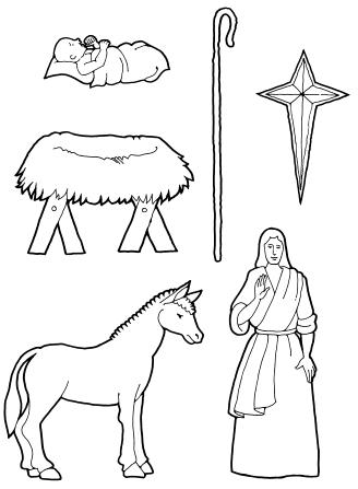 Nativity Pieces