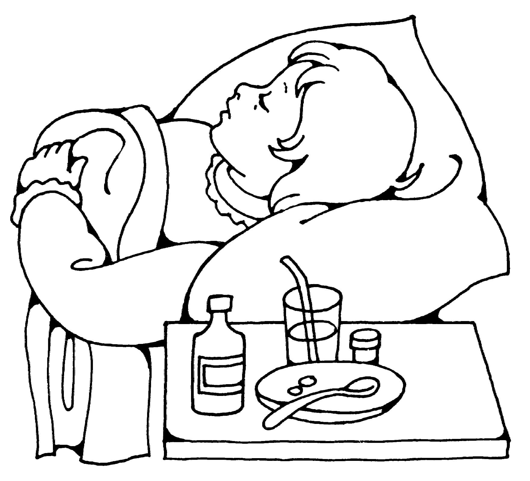 Картинки приколы, как нарисовать открытку больному
