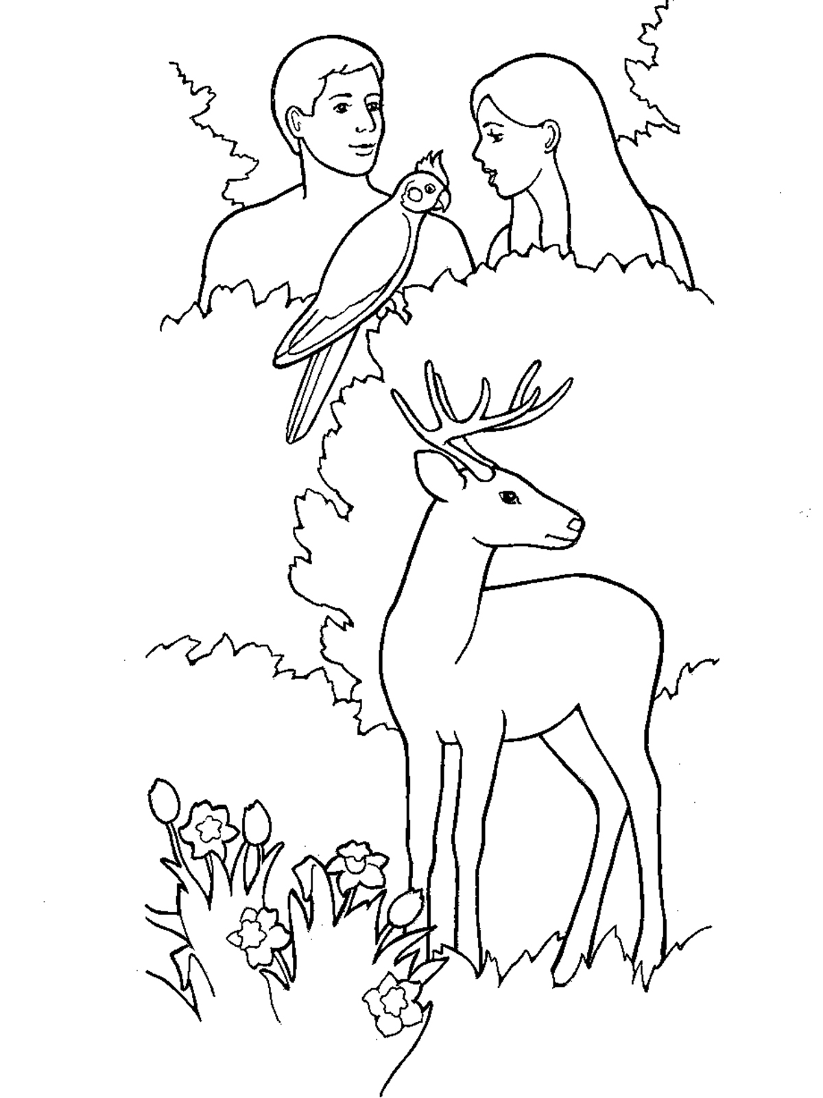 Lds Plan Salvation Coloring Page