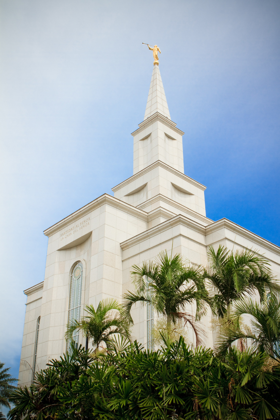 The Spire Of The Guayaquil Ecuador Temple
