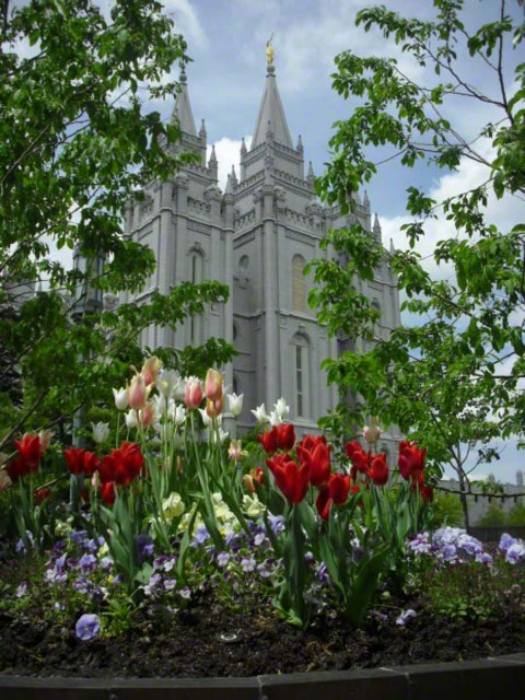 Salt Lake Temple. Courtesy LDS Media Library.