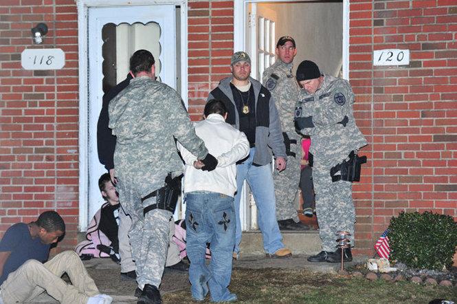 Wilson Borough meth raid Jan. 11, 2013