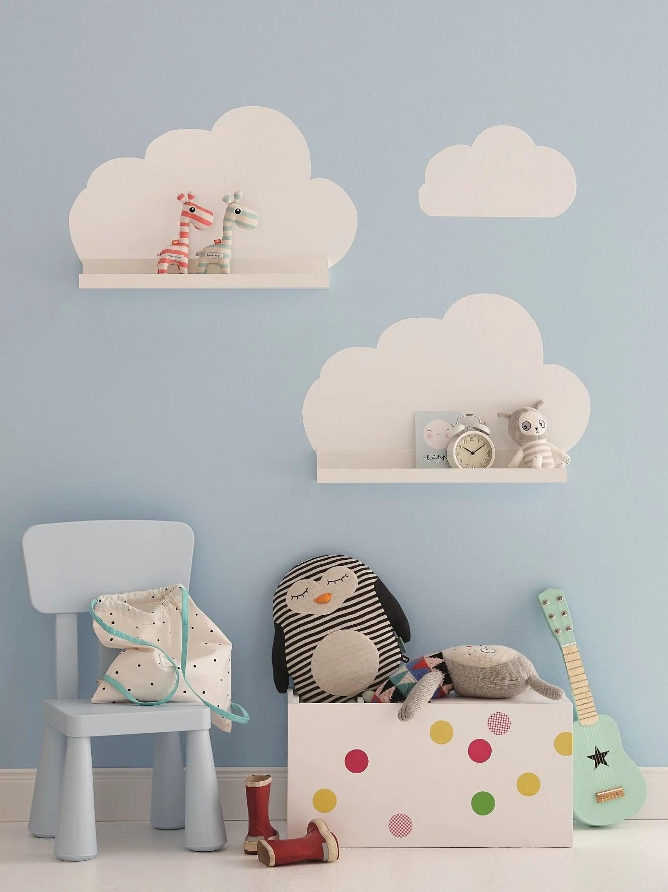 une deco nuage pour la chambre de bebe